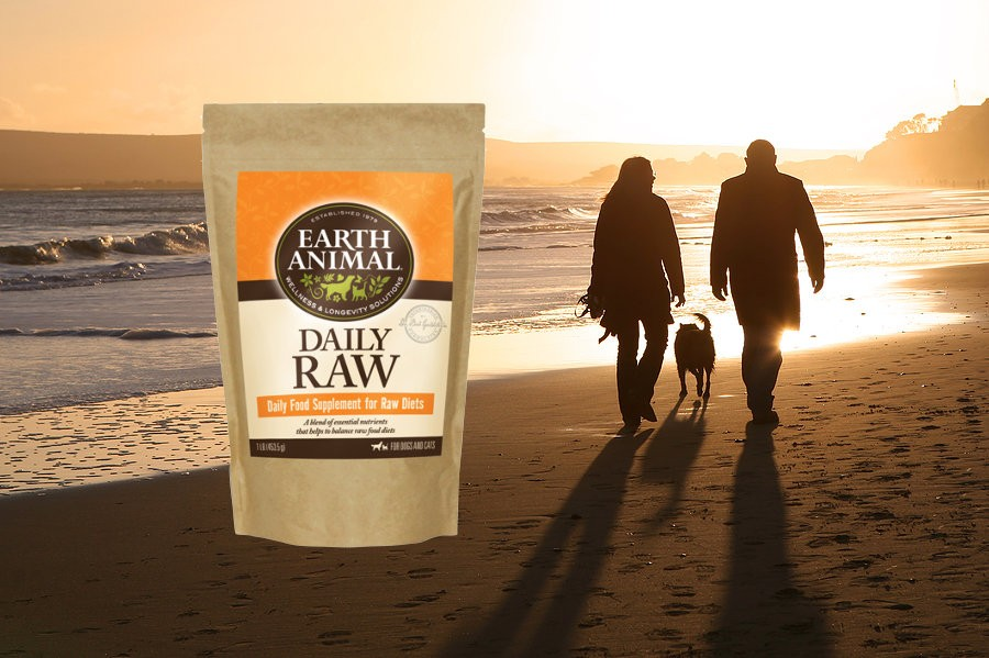 Earth Animal Raw Complete Powder Cat & Dog Food Supplement